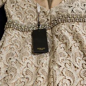 Evening dress can be worn  as a wedding dress